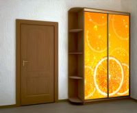 Наклейка на шкаф - Лимонад