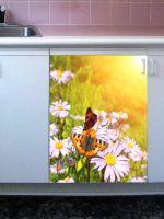 Наклейка на посудомоечную машину и кухню - Весна