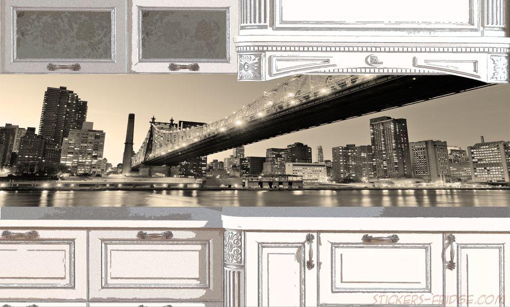 Фартук для кухни - New York 3