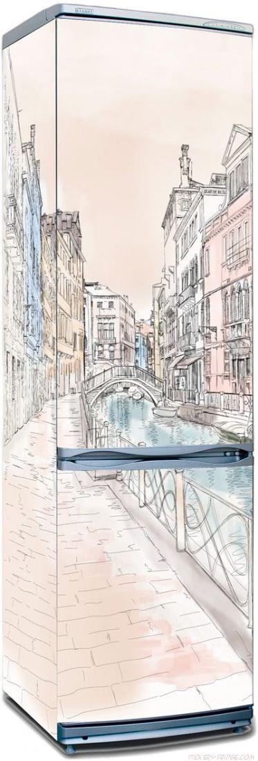 Пленка на холодильник - Венеция 1