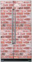 Наклейка на холодильник - Кирпич | купить в магазине Интерьерные наклейки