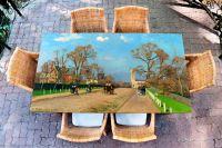 Наклейка на стол - The Avenue Sydenham | Купить фотопечать на стол в магазине Интерьерные наклейки