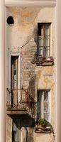 наклейка на дверь - Балкон