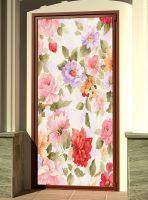 Виниловая наклейка на дверь - Прованс