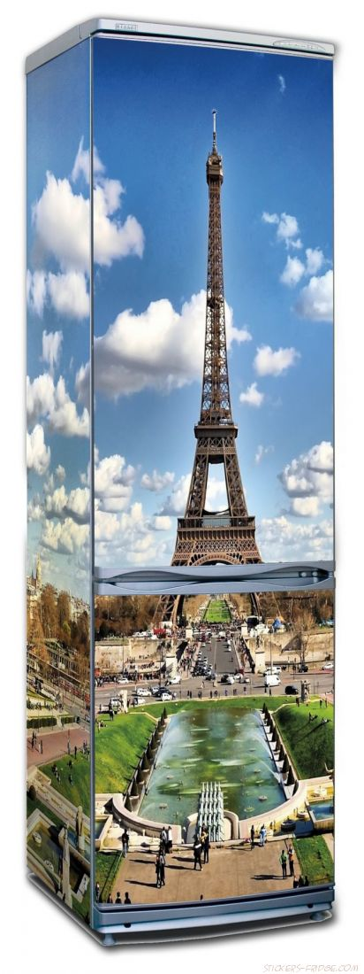 наклейки на холодильник - Париж 2
