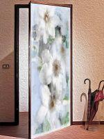 Декоративная наклейка на дверь - Воспоминание