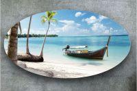Наклейка на стол - Пляж 4    Купить фотопечать на стол в магазине Интерьерные наклейки
