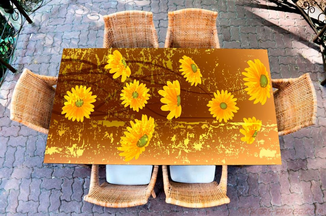 Наклейка на стол - Урсиния